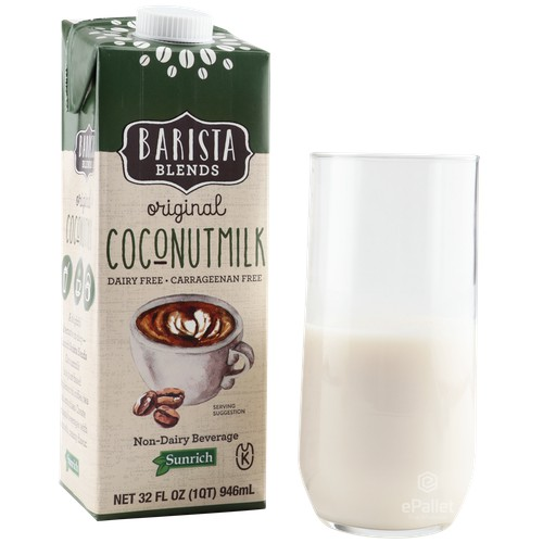MILK COCONUT 12/32z BAR BLEND