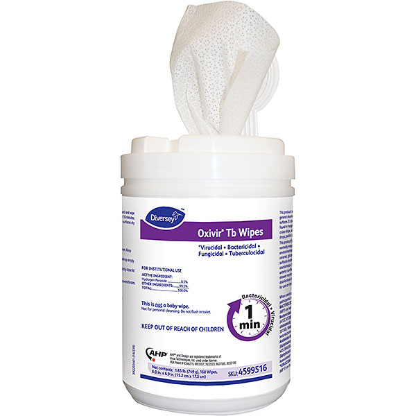 DISINFECTING WIPES OXIVIR TB 